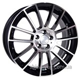 Racing Wheels H-408 7,5x17 5x112 ET 35 Dia 73,1 (BK-F/P)