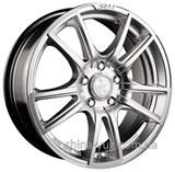 Racing Wheels H-411 6x14 4x98 ET 38 Dia 58,6 (BK-F/P)