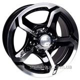 Racing Wheels H-409 7x15 5x139,7 ET0 DIA108,2 (BK-F/P)