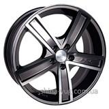 Racing Wheels H-412 7x16 5x110 ET 35 Dia 65,1 (BK-F/P)
