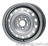 Steel Noname 6x15 5x100 ET39 DIA54,1 (silver)
