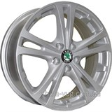 TRW Z616 6x15 5x100 ET43 DIA57,1 (silver)
