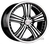 Racing Wheels H-434 8,5x20 5x112 ET 45 Dia 66,6 (BK-F/P)