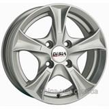 Disla 406 6x14 4x100 ET37 DIA67,1 (silver)
