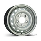 KFZ 8555 Mercedes Benz 6x15 5x130 ET75 DIA84 (silver)