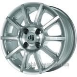 DJ 386 6x14 4x98 ET35 DIA67,1 (silver)