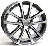 WSP Italy Volkswagen (W454) Eos Riace 8x18 5x112 ET45 DIA57,1 (anthracite polished)