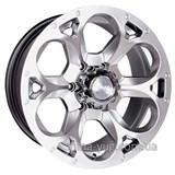 Racing Wheels H-276 7x15 5x139,7 ET 13 Dia 108,2 (BK-F/P)