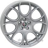 For Wheels AL 670f (Alfa Romeo) 8x18 5x110 ET41 DIA65,1 (silver)